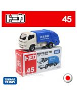 Tomica Diecast Model Car No45 - Toyota Dyna Refuse Truck