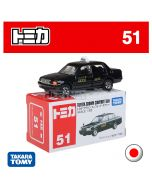 Tomica Diecast Model Car No51 - Toyota Crown Comfort Taxi
