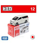 Tomica Diecast Model Car No12 - Toyota Alphard