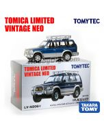 TOMYTEC Tomica Limited Vintage NEO 合金車 - LV-N206a Mitsubishi Pajero VR Option (藍 / 銀)
