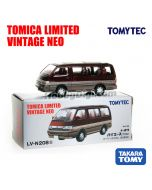 TOMYTEC Tomica Limited Vintage NEO 合金車 - LV-N208b Hiace Super Custom (暗紅 / 啡)