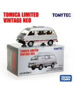 TOMYTEC Tomica Limited Vintage NEO Diecast Model Car - LV-N104c Town Ace Wagon Grand Extra (Silver)