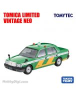 TOMYTEC Tomica Limited Vintage NEO 合金車 - LV-N218a Toyota Crown Comfort Tokyo Wireless Taxi (綠)