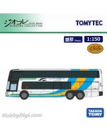 TOMYTEC Diorama Collection 1:150 模型車 - 三菱Fuso Aero King Collection JR四國巴士現行塗装