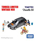 TOMYTEC Tomica Limited Vintage NEO 合金車 - Diocolle 64 # Car Snap 02b 洗車套裝 (連車, 配件)
