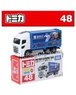 [2019 Sticker] Tomica Diecast Model Car No48 - Hino Profia