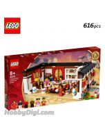 LEGO Seasonal 80101: 團圓. 團年飯 Chinese New Year's Eve Dinner