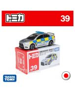 Tomica Diecast Model Car No39 - Mitsubishi Lancer Evolution X British Police Type
