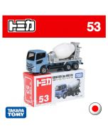 Tomica Diecast Model Car No53 - Nissan Diesel Quon Mixer Car