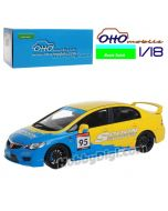 OttO Mobile X Route Twisk 1:18 樹脂模型車 - Honda Civic FD2 SPOON SPORTS EDITION