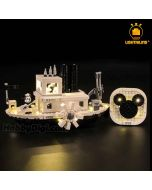 Lightailing 專用燈光組件 LEGO Disney 21317: Steamboat Willie