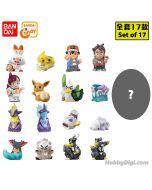 Bandai Candy - 寵物小精靈 Kids Let`s Go Toward the Dream! 公仔 (Set of 17)