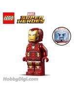 LEGO 散裝人仔 Marvel : Iron Man with Gold Hexagon on Chest and Red Arms