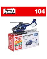 [2018 Sticker] Tomica Diecast Model Car No104 - Kawasaki BK117 D-2 Helicopter