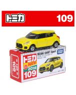 [2018 Sticker] Tomica Diecast Model Car No109 - Suzuki Swift Sport