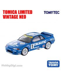 TOMYTEC Tomica Limited Vintage NEO Diecast Model Car - LV-N234a Calsonic Skyline GT-R (1991 specification)