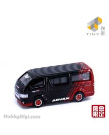 Tiny City Exhibition Exclusive Diecast Model Car - Toyota Hiace Advan