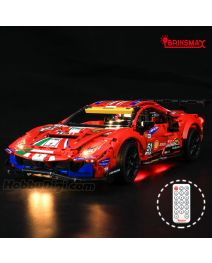 Briksmax Light Kit For LEGO Technic  42125 : Ferrari 488 GTE