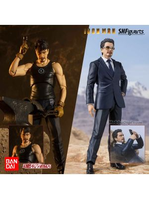 [日版] Bandai S.H.Figuarts 魂商店限定 可動模型: 東尼·史達 Tony Start (Birth of Iron Man Edition)《鐵甲奇俠》