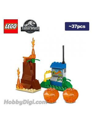 LEGO Loose Decoration Jurassic World: Small Volcano and Small Outpost