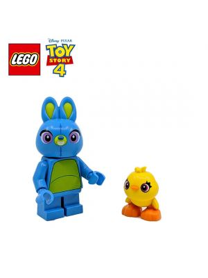 LEGO Loose Minifigure Toy Story : Bunny and Ducky