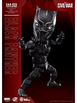 Beast Kingdom Marvel Egg Attack Action EAA-033 - Black Panther