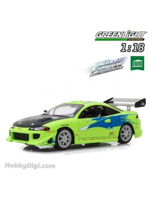 Greenlight 1:18 Model Car - Artisan Collection - The Fast and the Furious (2001) - 1995 Mitsubishi Eclipse