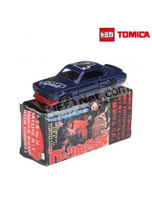 Tomica 哥斯拉 二次創作合金車 No2 - Nissan Skyline H-T 2000GT-R Racing