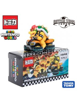 Tomica Universal Studios Japan Limited Diecast Model Car - Super Nintendo World Mario Kart Bowser