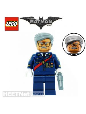 LEGO Loose Minifigure The Batman Movie: Commissioner Gordon (The Batman Movie)
