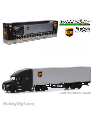 Greenlight 1:64 合金車 -  Mack Anthem 18 Wheeler Tractor-Trailer - United Parcel Service (UPS) Freight (Hobby Exclusive)