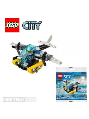 LEGO City Polybag 30346: Prison Island Helicopter
