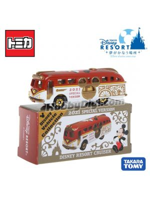 Tomica Tokyo Disney Resort Limited Diecast Model Car - Mickey Mouse Disney Resort Cruiser 2021 Special Version