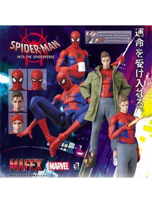 Medicom Toy MAFEX Action Figure 109  - Spiderman:Into The Spider-Verse Spider-Man (Peter B. Paker)