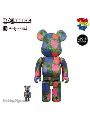 "[JP Ver.] Medicom Toy Be@Rbrick - ANDY WARHOL ""Flowers"