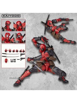 Kaiyodo Marvel Comics Amazing Yamaguchi PVC Action Figure - No.001 Deadpool (re-release)