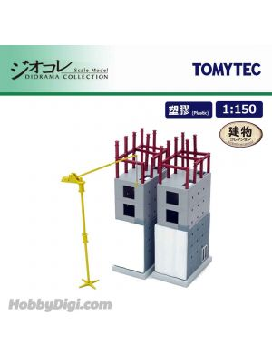 TOMYTEC Diorama Collection 1:150 Diorama Scenery Collection 167 - Small Building under construction D