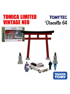 TOMYTEC Tomica Limited Vintage NEO Diecast Model Car - cDiocolle 64 #03a Shinto Shrine