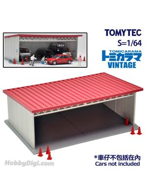 TOMYTEC Tomicarama Vintage 1:64 場景 - 07a Covered Parking
