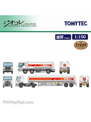 TOMYTEC Diorama Collection 1:150 Model Car - ENEOS Tank Lorry