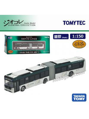 TOMYTEC Diorama Collection 1:150 Model Car -  Mie Kotsu `Shinto Liner` Articulated Bus