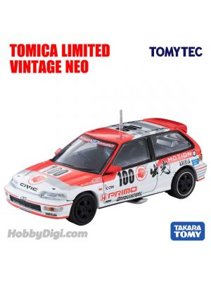 TOMYTEC Tomica Limited Vintage NEO Diecast Model Car - LV-N229a Idemitsu MOTION Infinite Civic