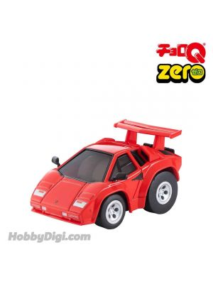 Tomica ChoroQ Zero Pull Back Diecast Model Car - Z-71c Lamborghini Countach 5000QV (Red)