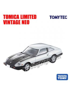TOMYTEC Tomica Limited Vintage NEODiecast Model Car- LV-N236a Nissan Fairlady Z-T Turbo 2 BY2 (Silver / Black)