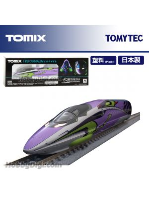 TOMYTEC TOMIX 列車模型 - FIRST CAR MUSEUM JR 500-7000系山陽新幹線 (500 TYPE EVA)