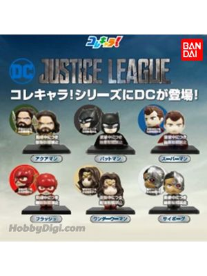 Bandai Colle Chara! Gacha - Justice League (Set of 6)