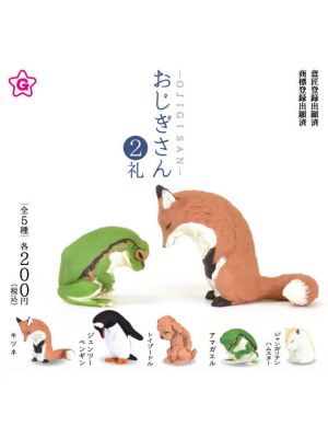 Yell Capsule Toys - Ojigisan 2 (Box of 10)
