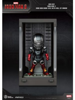 Beast Kingdom Marvel Mini Egg Attack Action MEA-022 -  Iron Man Mark XXII with Hall of Armor