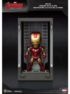 Beast Kingdom Marvel Mini Egg Attack Action MEA-022 -  Iron Man Mark XLIII with Hall of Armor