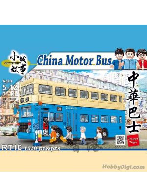 City Story Bricks RT16: CHINA MOTOR BUS
